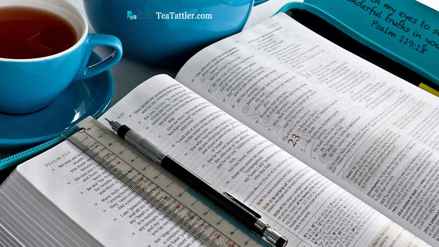 Tea Tattler Relaunch - sharing all things tea with a divine perspective. Please join us as we explore Scripture and the joys of tea together. | TeaTattler.com #TeaTattler